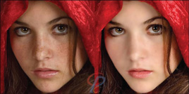 Photo Retouching service example