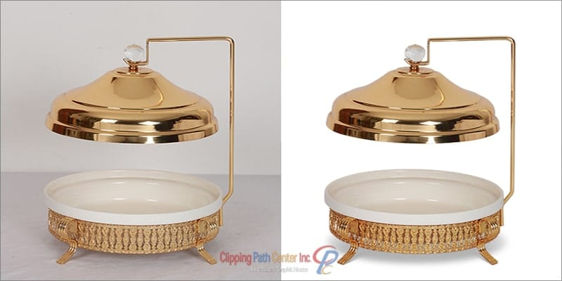 Clipping path for eCommerce platform