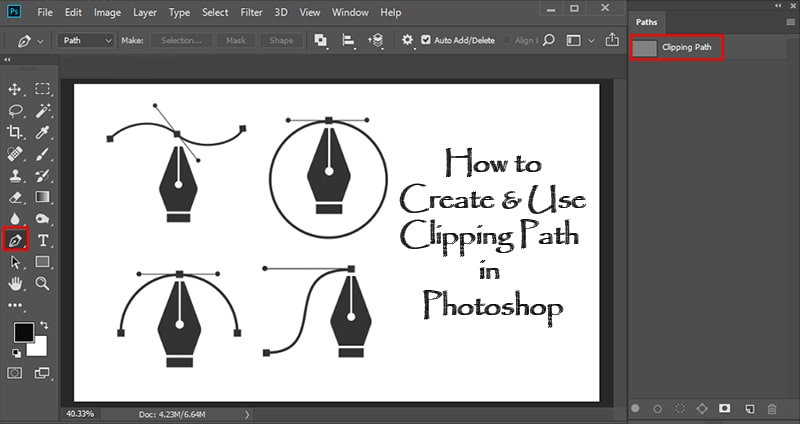 How to Create And Use Clipping Path in Photoshop [ A Complete Guide ]