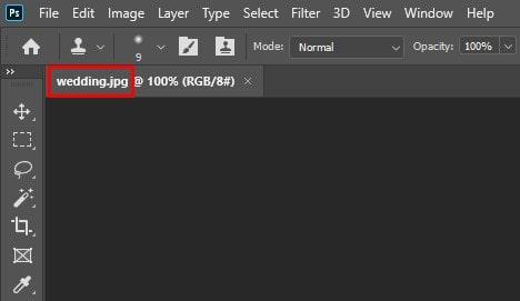 """file name is """"Wedding.jpg"""""""