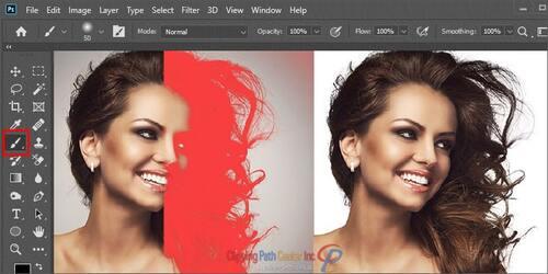 Image Masking With Brush Tool