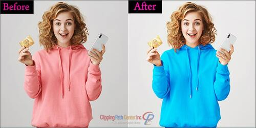 Model Photography Color Correction
