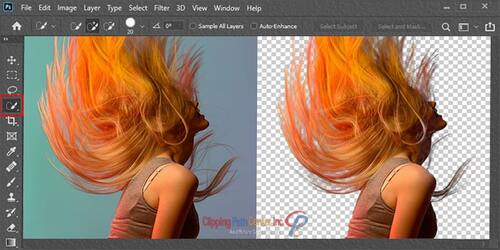 Photo Masking With Selection Tool