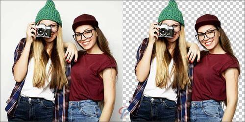 Masking Photos example