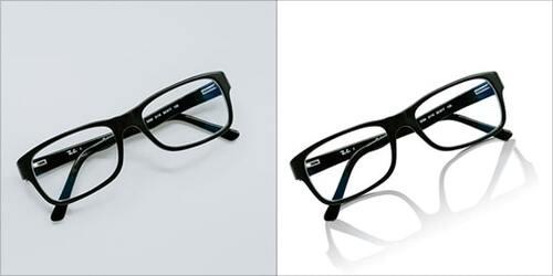 Eyeglass Image Editing in Photoshop