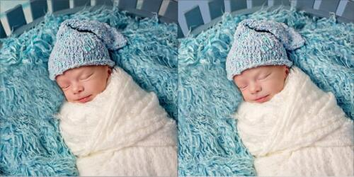 Newborn Photo Editing
