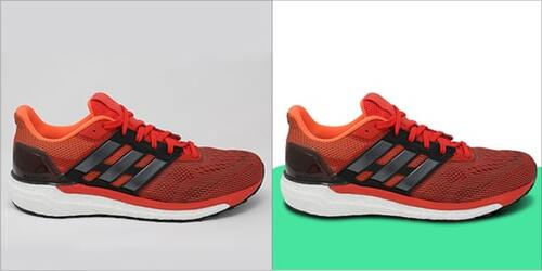 Shoe Photo Editing in Photoshop