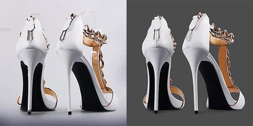 Shoe Image Retouching