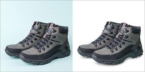 Shoe Photo Shadow Effects