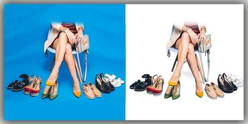 Shoe photo editor