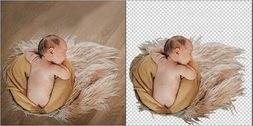 Baby Photo Background Removal