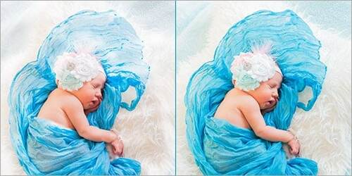 Baby Photo Color Correction