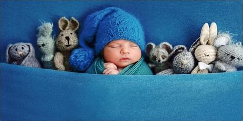 Newborn Photo Compositing
