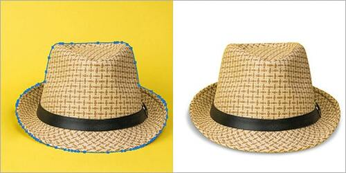 Hats and Bags Clipping Path