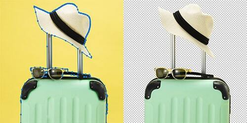 Hats and Bags Image Editing Services
