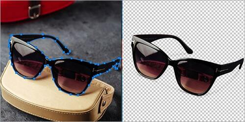 Sunglass Background Removal