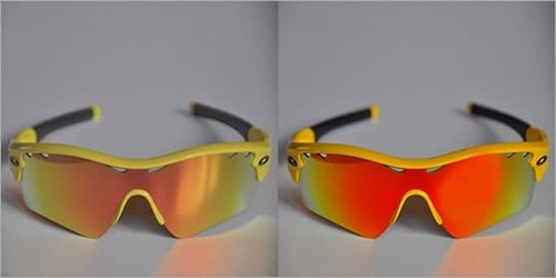 Sunglass Color Correction