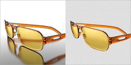 Sunglass Photo Editing